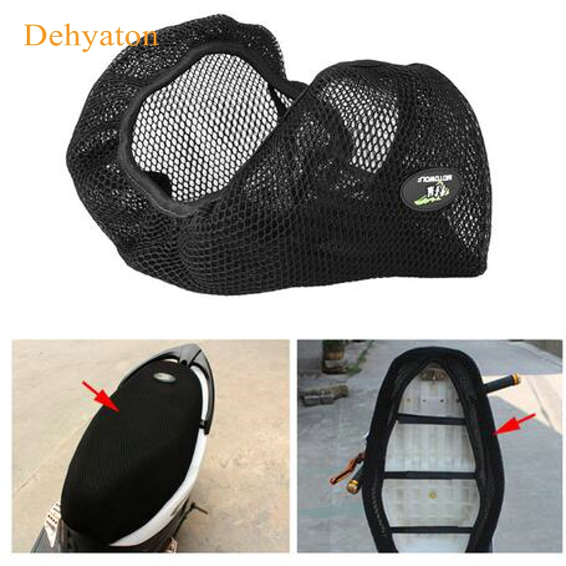 Anti-slip Styling Motorcycle 3D Polyester Seat Cover Net  Heat insulation sleeve