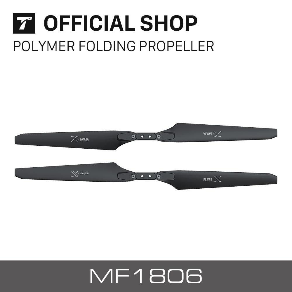 t motor novo lancado mf1806 polimero dobravel helice x carbono para rc multi rotores vtol multicoptor