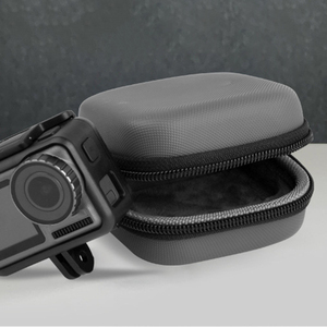 Image 4 - Sports camera mini Carrying case protection bag Portable box with D Keychain buckle for dji OSMO ACTION camera Accessories