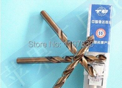 10PCS / set 1mm HSS M35 Co5% acero inoxidable rectificado completo - Broca - foto 1