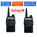 2pcs/lot Baofeng UV-5R 8W UV-8HX Walkie Talkie Ham Radio UHF&VHF 136-174MHz&400-520MHz 128 Dual Band Two WayRadio retevis rt-5r