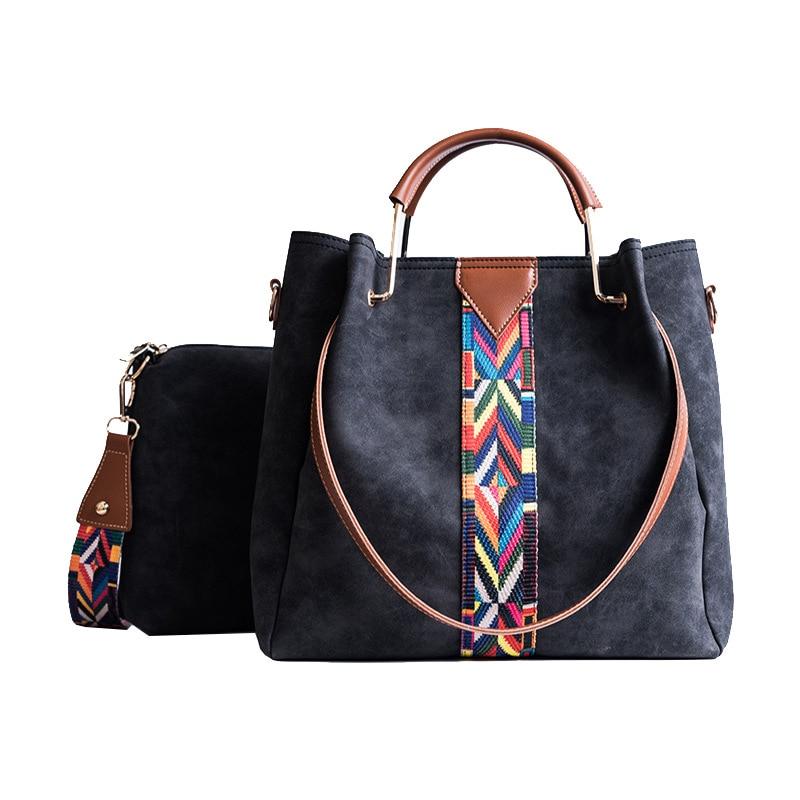Leather Fashionable Boho Clutch Bag 2018