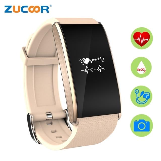 846cb1cff7 Smart Armband Band Blutdruck Sauerstoff RB15 Armband Uhr Herzfrequenz IP67 Wasserdichte  Fitness Tracker Für iOS Android