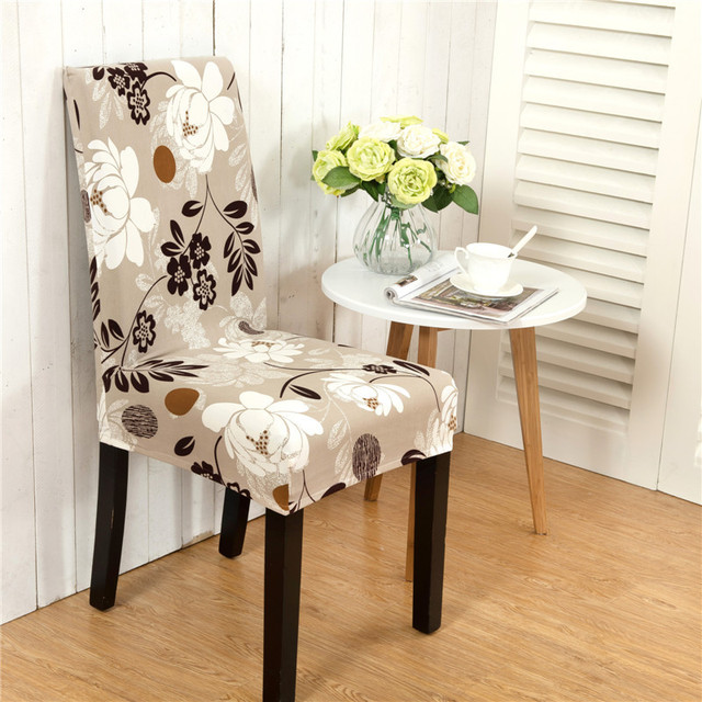 anti vuile stretch stoelhoezen elastische stoel protector slipcover decoratie hotel eetkamer decor bruiloft stoel cover