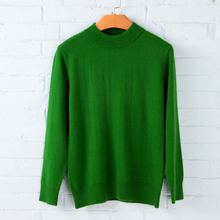 Women Cashmere Sweater Womens Knitted Tops Female Long Sleeve Autumn Winter Turtleneck Pullovers Solid Color Sweate