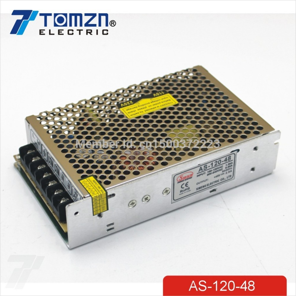 120W 48V 2.5A Small Volume Single Output Switching power supply for LED Strip light smps 1200w 48v adjustable 220v input single output switching power supply for led strip light ac to dc