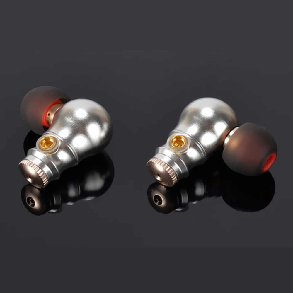 100% Newest TONEKING MusicMaker Nine tail In Ear Dynamic Earphone DIY HIFI Fever Metal Bass Earphone With MMCX Interface