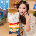 Cat extra large cloth doll plush toy cute doll dolls bread toy gift