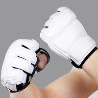 Professional Adult Children Taekwondo Gloves Hand Protector WTF Sanda Karate Boxing MMA Gloves For Kids Traing