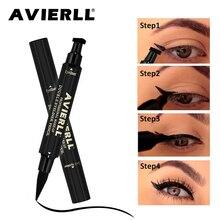 brand Vamp Stamp Liquid Eyeliner Pen Waterproof Fast Dry Black Eye Liner Pencil With Cosmetic Double-ended Makeup tools