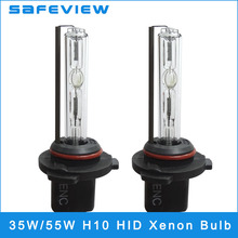 2 pieces HID Xenon Kit h10 xenon bulb lamp car headlight for all cars 4300K 5000K 6000K 8000K 10000K High Quality Car Xenon Lamp