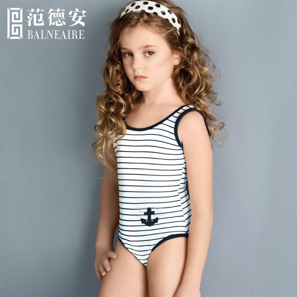 Blaneaire Girls Beach Dress Kids Swimwear Navy Style 3 12 Year Old