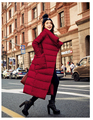 2016 novo inverno quente grossa jaqueta e seções longas soltas e confortáveis grande moda bolso era fino casaco feminino