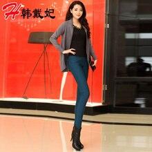 New Nice Winter Leggings women's Fashion Thick Plus Velvet Elastic Leggings Big Size Trousers Pencil Pants Jeans 3 Color S1838