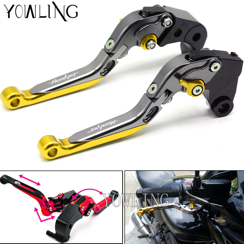 For HONDA CB599 CB600 Hornet 98-06 CBR 600 F2.F3.F4.F4i 91-07 Hornet CB919 02-07 Motorcycle Extendable Brakes Clutch Levers mf2300 f2