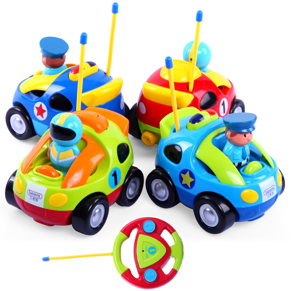Bayi Mainan Musik Mini Cahaya Mobil Anak Remote Control Mobil Balap