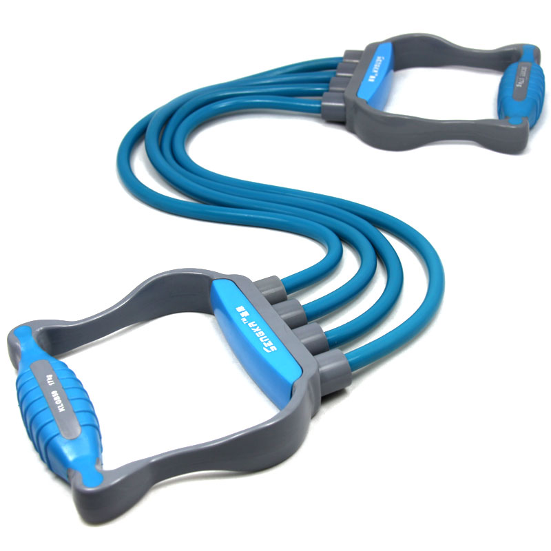 Enhanced Version Fitness Resistance Bands Exercise Tubes Practical Elastic Training Rope Pull Rope Pilates Workout Cordages