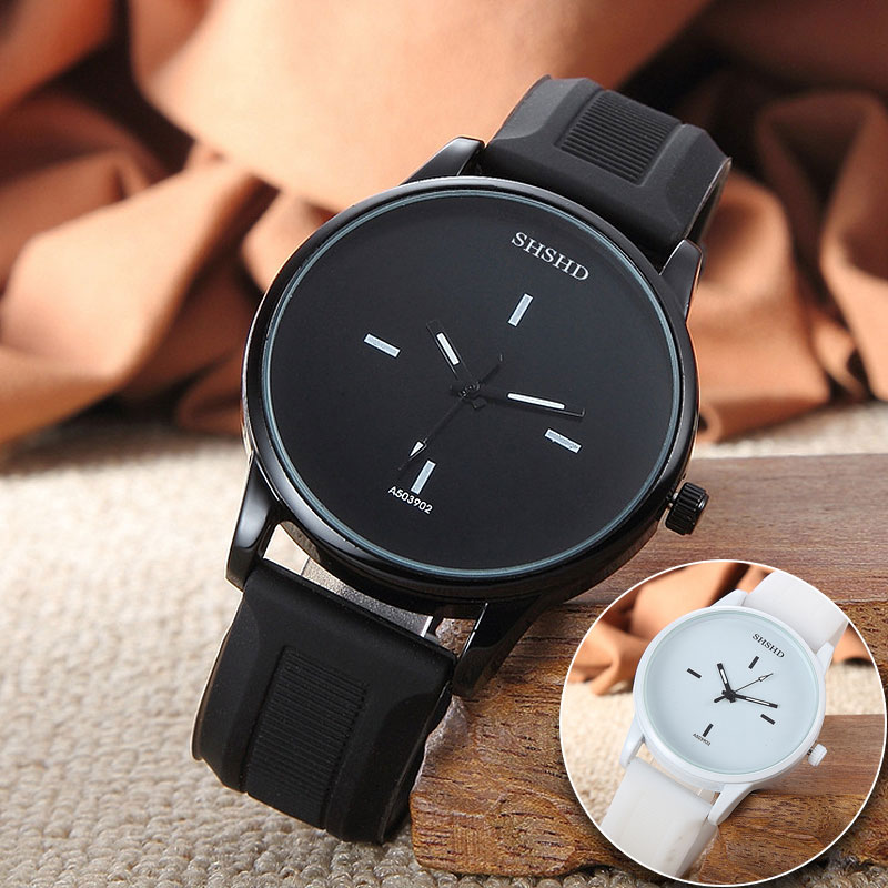 New Fashion Couple Men Women Watch Delicate Lover's Wristwatches Quartz PU Leather Clock Relogio Feminino Montre Femme Timer