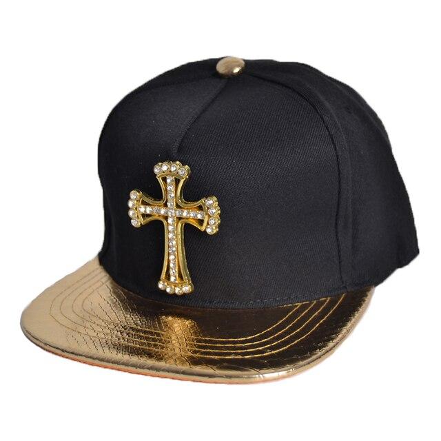 57ff3833107 New Brands casquette Unisex Solid Cross Jesus pendant Casual Snapback Hat  Cotton Sports Hip Hop Caps Adjustable Hip hop gift