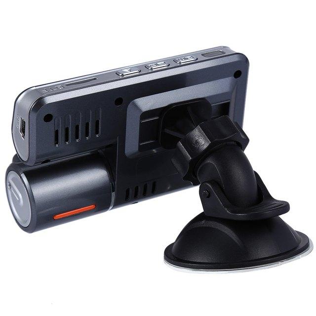 Dual Lens Camcorder Auto Car DVR Camera HD 1080P Dash Cam Driving Recorder DVR Camera Camcorder dash cam free shipping