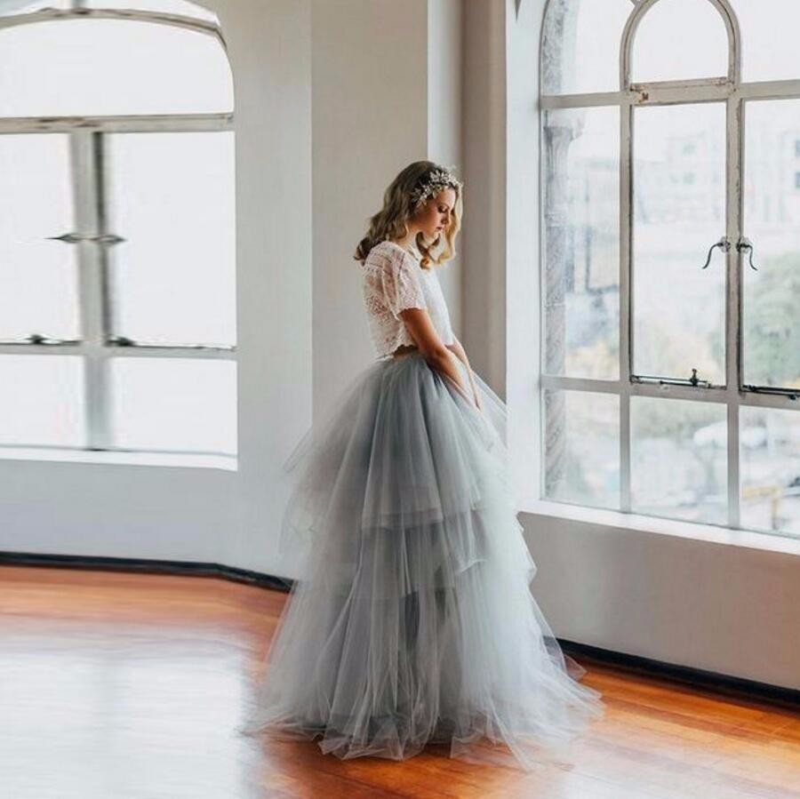 32.1 Royal Court Retro Style Skirts Women A Line Floor Length Puffy Tulle Long Maxi Skirt Custom Made Tiered Tutu Formal Skirts