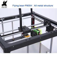 Free shipping Flyingbear P905H DIY 3d Printer kit Full metal Large printing size High Quality Precision