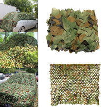 2m*2m Oxford polyester cloth Hunting Military Camouflage Nets Army Camo netting Camping Sun Shelter Shade