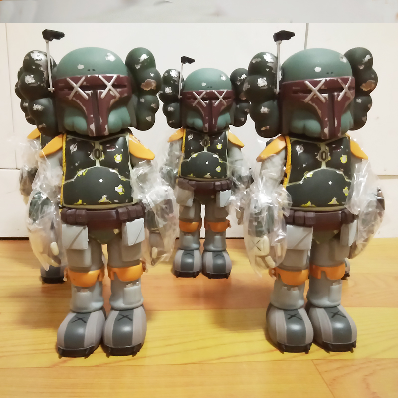 10 inch OriginalFake KAWS Boba Fett Companio by Kaws for Star Wars 30th Anniversary kaws companion original fake