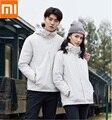Xiaomi youpin Tre-in-one di viaggio giacca 90% anatra giù antivento antipioggia fodera staccabile paio di modelli di cappotto Caldo