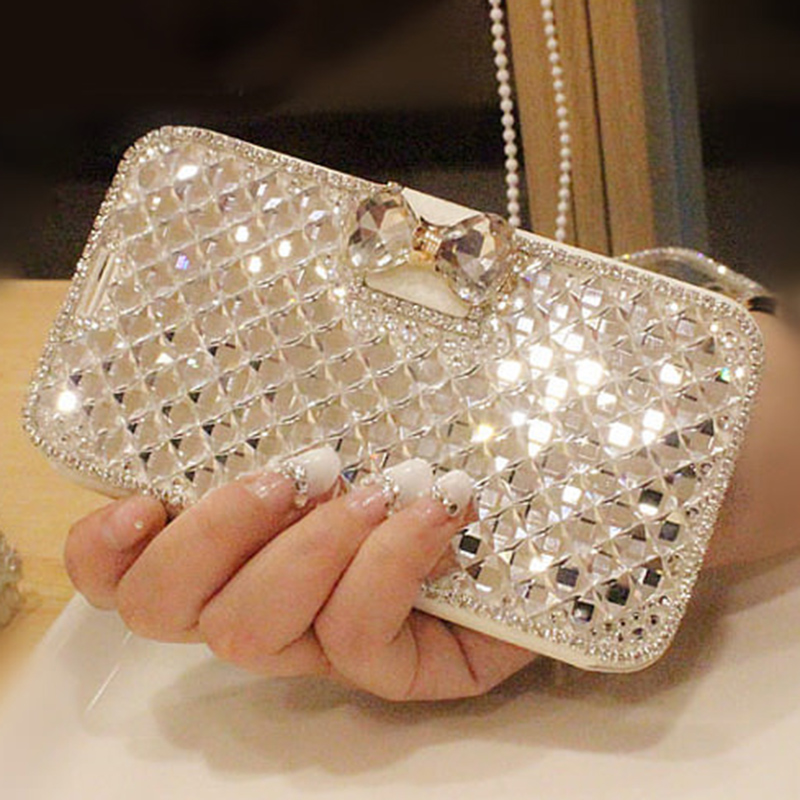 luxury fashion bling bowknot case for samsung galaxy s7 s7 edge crystal rhinestone diamond. Black Bedroom Furniture Sets. Home Design Ideas
