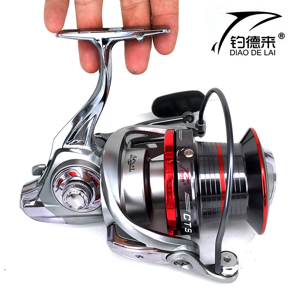 FDDL9000 10000 12000 size full metal spool spinning big sea fishing reel Jigging trolling long shot