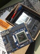 Originale GTX980M GPU Grafica Carta N16E GX A1 8 GB GDDR5 Per Alienware Clevo GTX980 Scheda Video GPU di Ricambio GTX 980 M