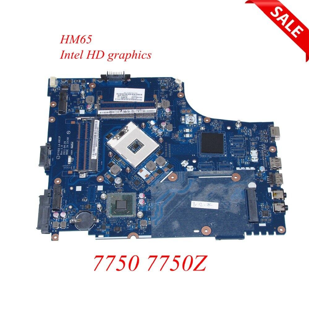 где купить NOKOTION MBRN802001 MB.RN802.001 For ACER aspire 7750 7750Z laptop motherboard HM65 DDR3 P7YE0 LA-6911P Intel HD Graphics по лучшей цене