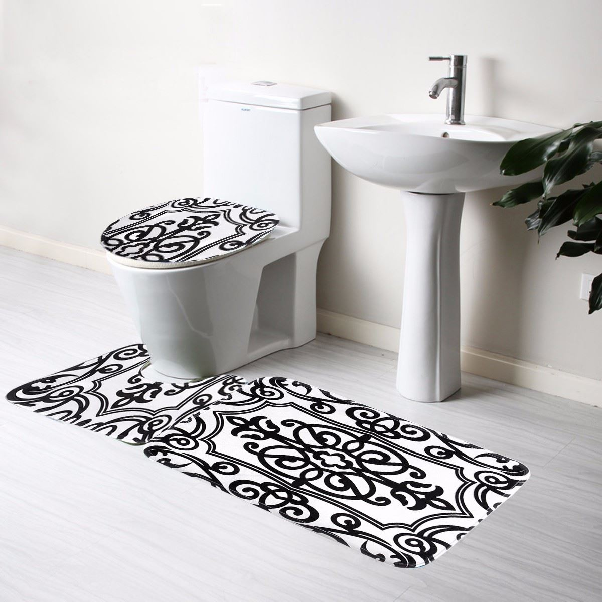 of red white designs um bathroom setting ways for different mat mats scenic size rug and black rugs bath