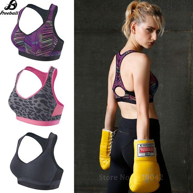 78a37315b5e20 Women Summer Seamless Rims Sports Brassiere Yoga Fitness Padded Running Bra  Jogging Plus Size Crop Top Quick Dry Camo Sports Bra