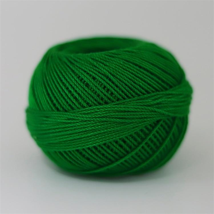 Размер 3 хлопковая Жемчужная Нить египетская длинная Штапельная хлопковая пряжа газированная двойная мерсеризованная 6 нитей плетение 50 грамм на шарик - Цвет: 713