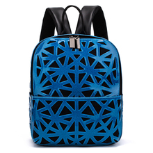 New Bao Backpack Fashion Mochilas Mujer 2019 School Bags For Teenage Girls Hologram Travel Cute Geometric Back Pack Bag
