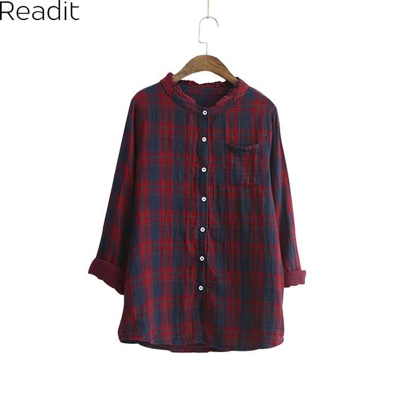 Online Get Cheap Green Plaid Shirt Womens -Aliexpress.com ...