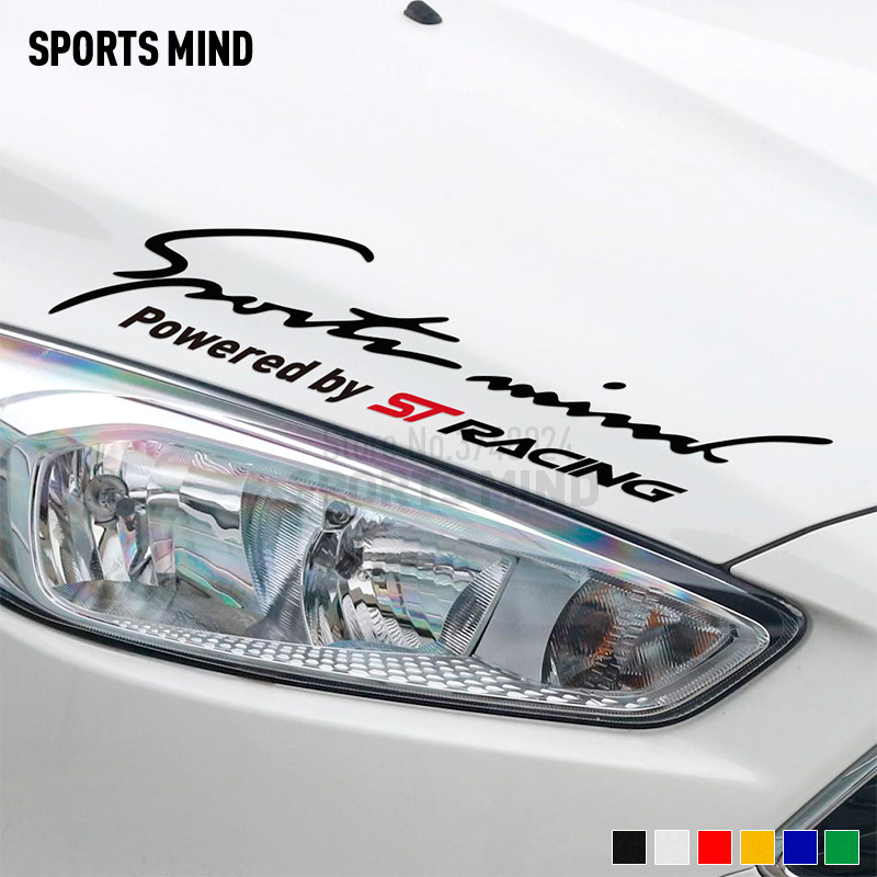 Sport Geist St Racing Vinyl Auto Aufkleber Aufkleber Auto Styling Für Ford Focus Fiesta Mondeo Kuga Mk2 Mk3 Aufkleber Für Auto Zubehör
