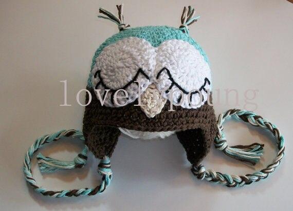 Crochet Baby Hat Crochet Owl Hats Moq 1pc Lovely Owl Hat Knitting
