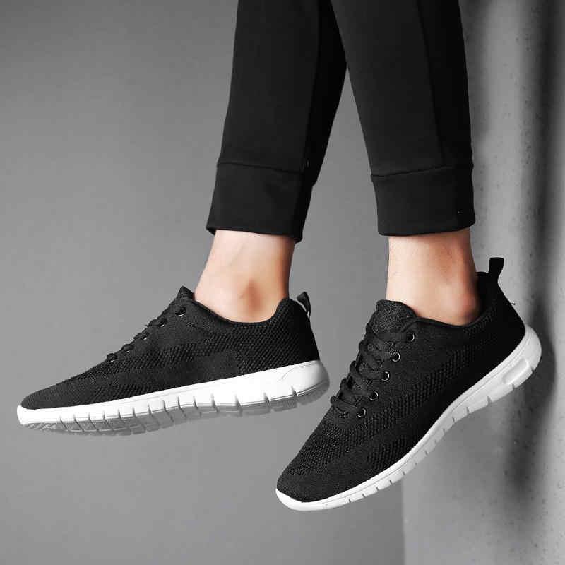 Мужские кроссовки 9908 года; Мужская обувь для взрослых; цвет красный, черный, серый; высокое качество; Удобная нескользящая Мягкая сетчатая мужская повседневная обувь; Новинка 2018 года; сезон лето