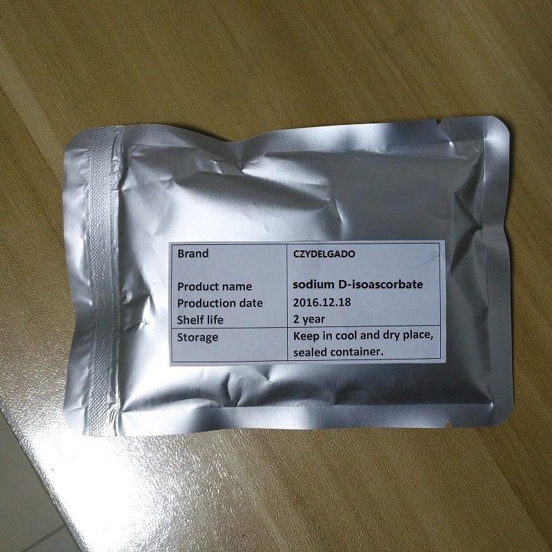 1kg sodium D-isoascorbate food grade sodium D isoascorbate erythorbic acid 1kg bag erythritol food grade 99%