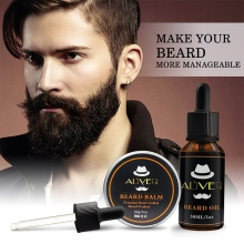 30ml/30g Men Beard Oil StrengthensThickens Healthier Beard G