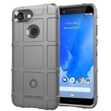 For Google Pixel 3/Pixel3 XL/Pixel 3a (3 Lite)/3a XL Lite)Case Premium Soft Silicone TPU Shockproof Phone Case Back Cover