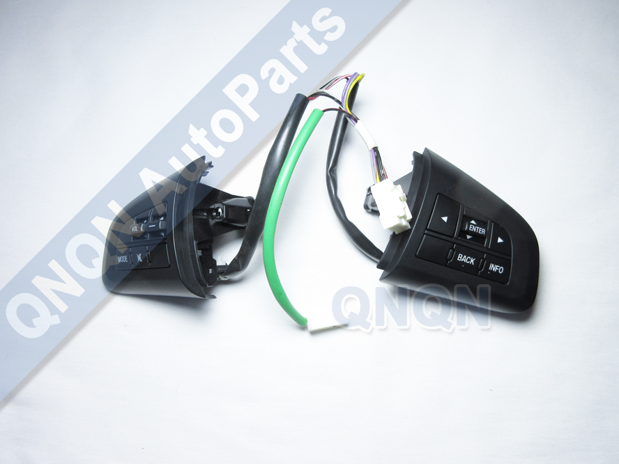 Pairs Steering Wheel Bluetooth Audio Cruise Control Switch Button For Mazda 3/5 CX-7 BL 08-13