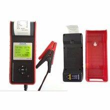 12 В цифровой автомобильный/Car vehivcle Батарея тестер с принтером MICRO-568 для/Батарея нагрузка/зарядки Напряжение/ стартер Двигатель