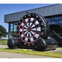 3 метра огромный надувной футбольный мяч дартс доска Спорт на открытом воздухе Надувные игрушки надувная мишень для дротиков игра с воздухо