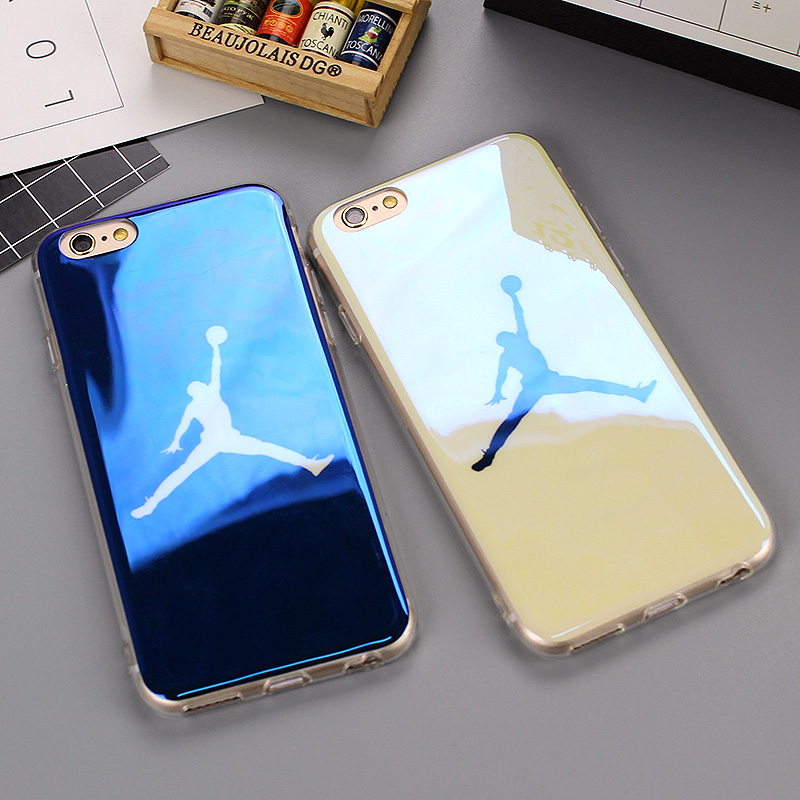 Ultra Thin Blu-ray laser NBA 23 Michael Jordan TPU Soft Case For iPhone 6 6s Plus Cases Back Cover for iPhone 7 7 Plus Fundas
