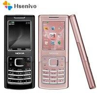 6500C 원래 노키아 6500C 블루투스 GSM 3G 잠금 해제 휴대 전화 1 년 보증 무료 배송