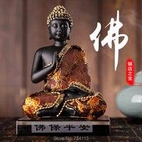 Buddha Car Artwork Buddha Tathagata Safe Good Lucky Maitreya Buddha Statue Praying Buddha Activated Carbon Ornaments